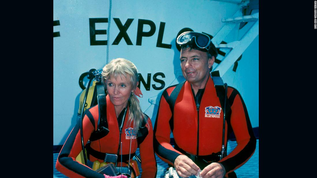 In the 1960s, Australians Valerie and Ron Taylor were competitive spear fishers. They moved into underwater photography and film making, before working to educate people about threats to the oceans and marine life.