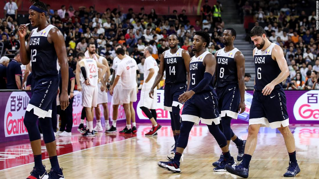 Team USA loses again at FIBA World Cup, guaranteeing worst major-tournament finish