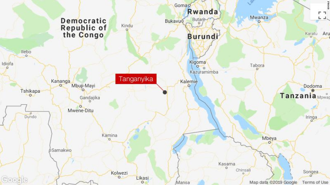 At least 50 dead in train derailment in the Democratic Republic of Congo