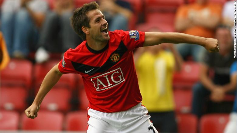 Michael Owen scored 17 goals in 52 games for Manchester United.