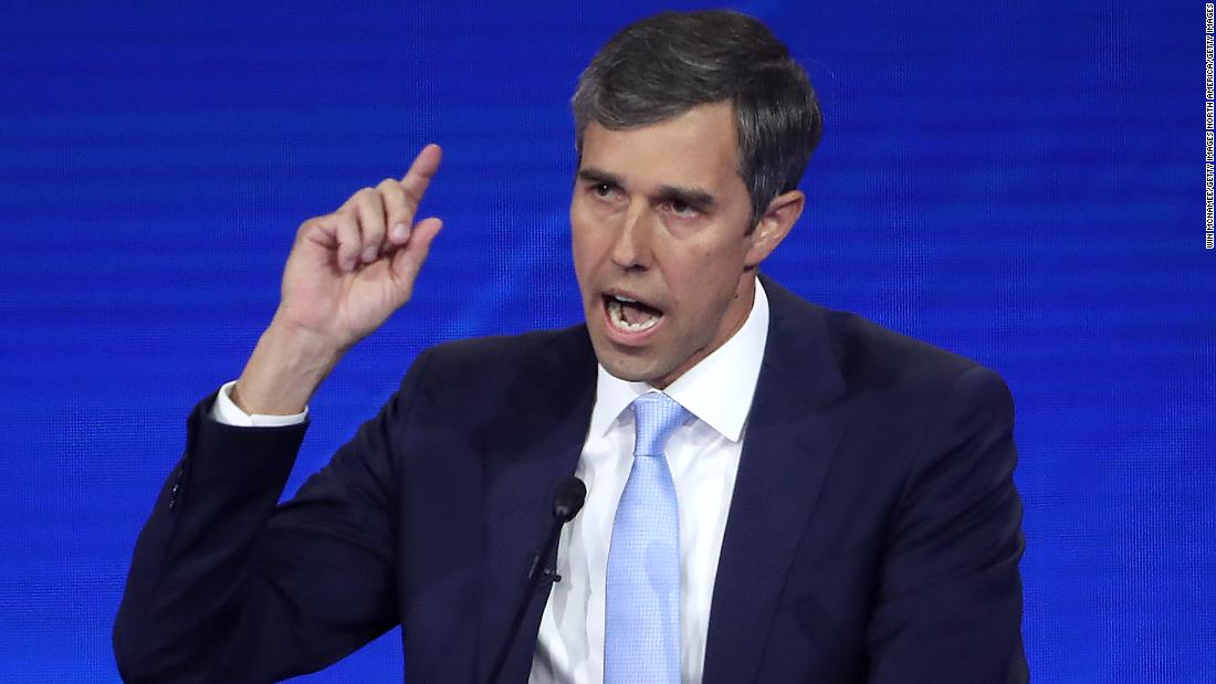 O'Rourke says mandatory gun buyback program would resonate with voters