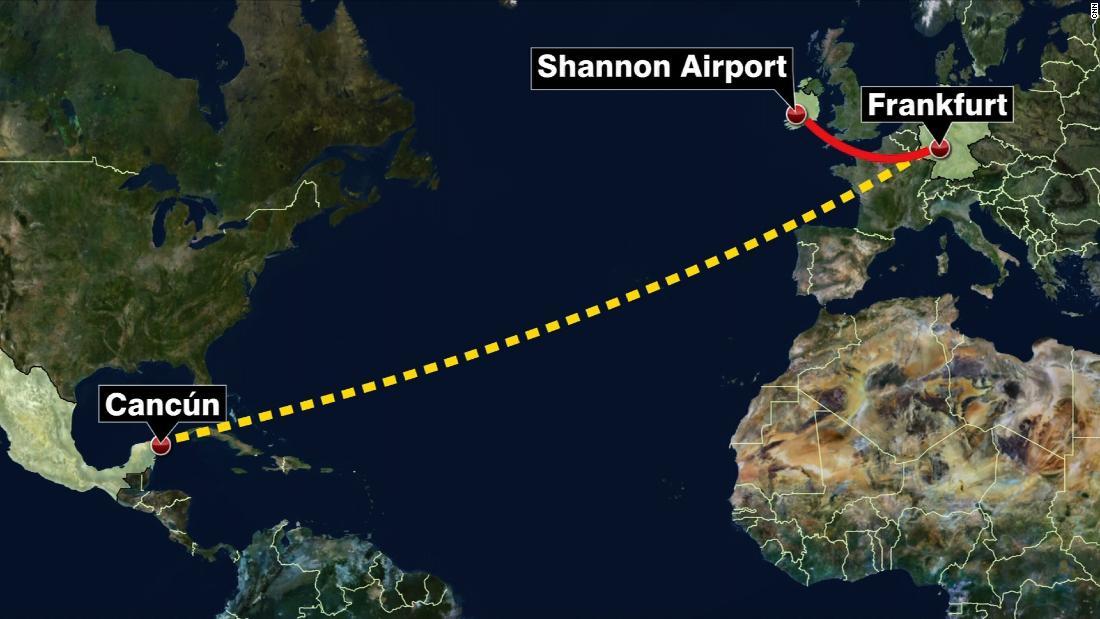 Spilled coffee diverted transatlantic flight