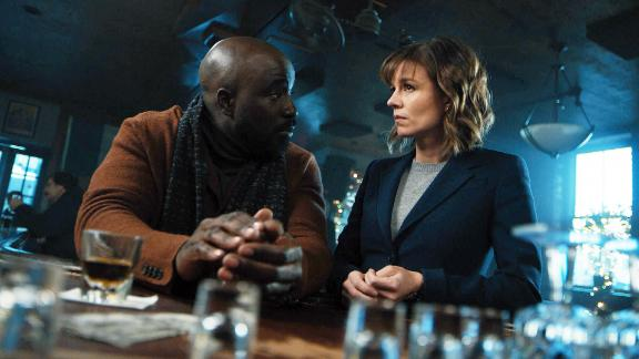 Mike Colter and Katja Herbers in