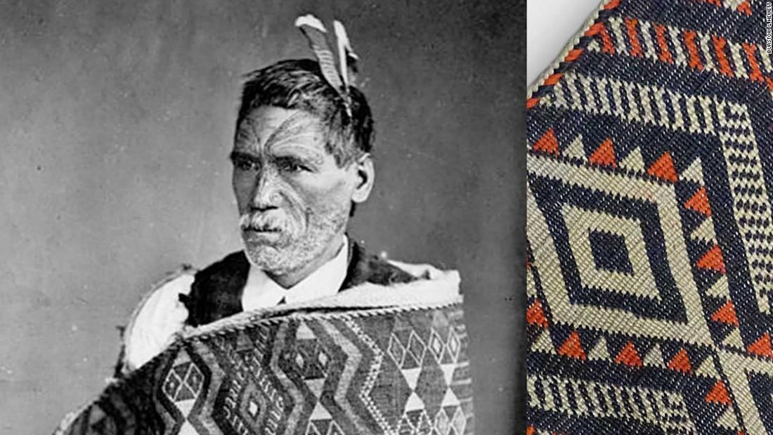 Rare Maori cloak pulled from auction after online threats and abuse