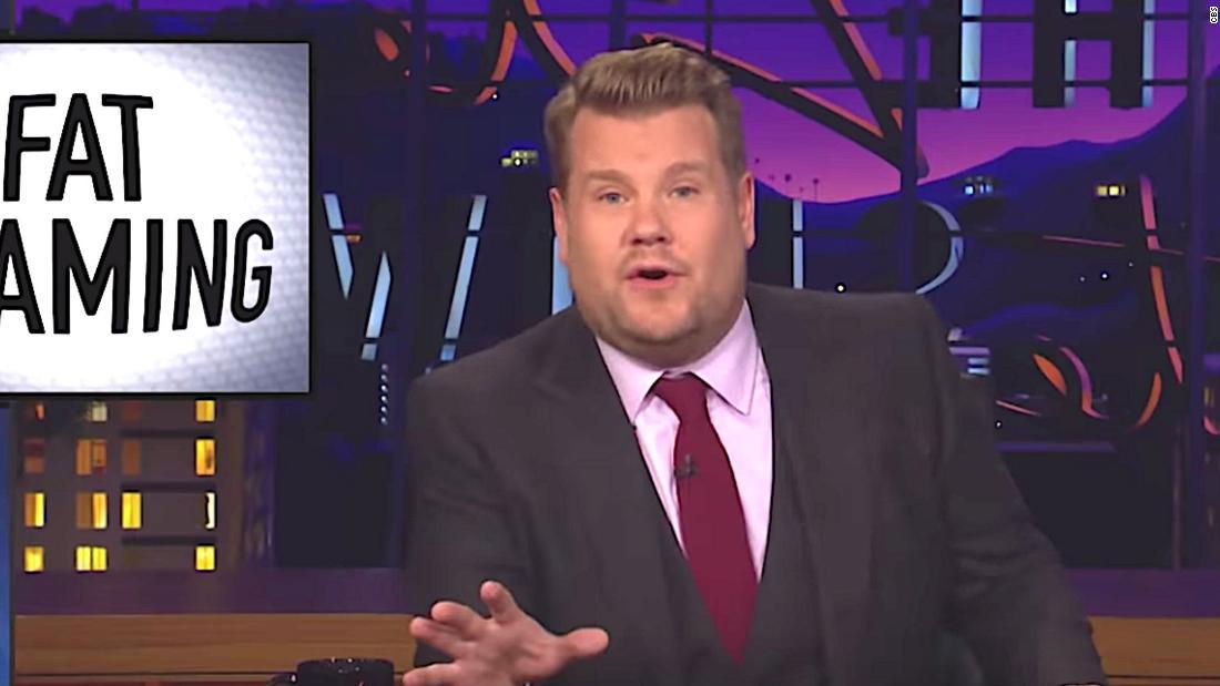 James Corden calls out Bill Maher for fat-shaming segment