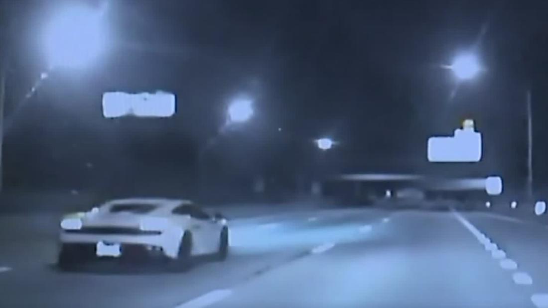 Hear speeding Lamborghini driver's blunt excuse to police