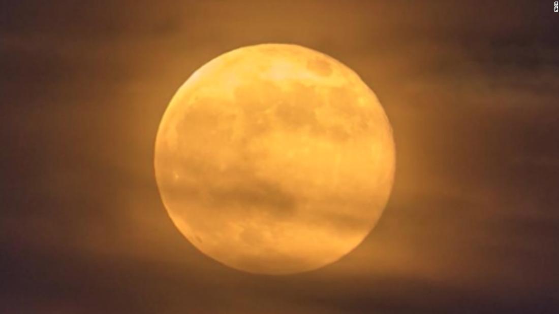 Halloween full moon: See October's 'blue moon' tonight – CNN