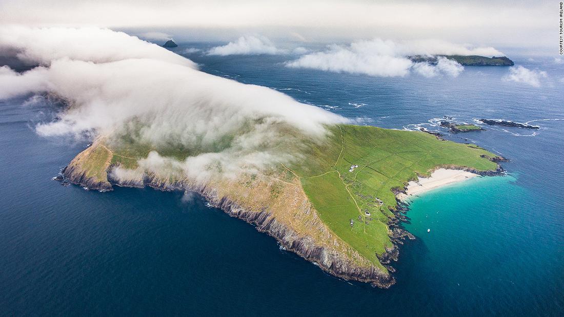 Die irische Insel sucht paar zu Sommer-Hausmeister