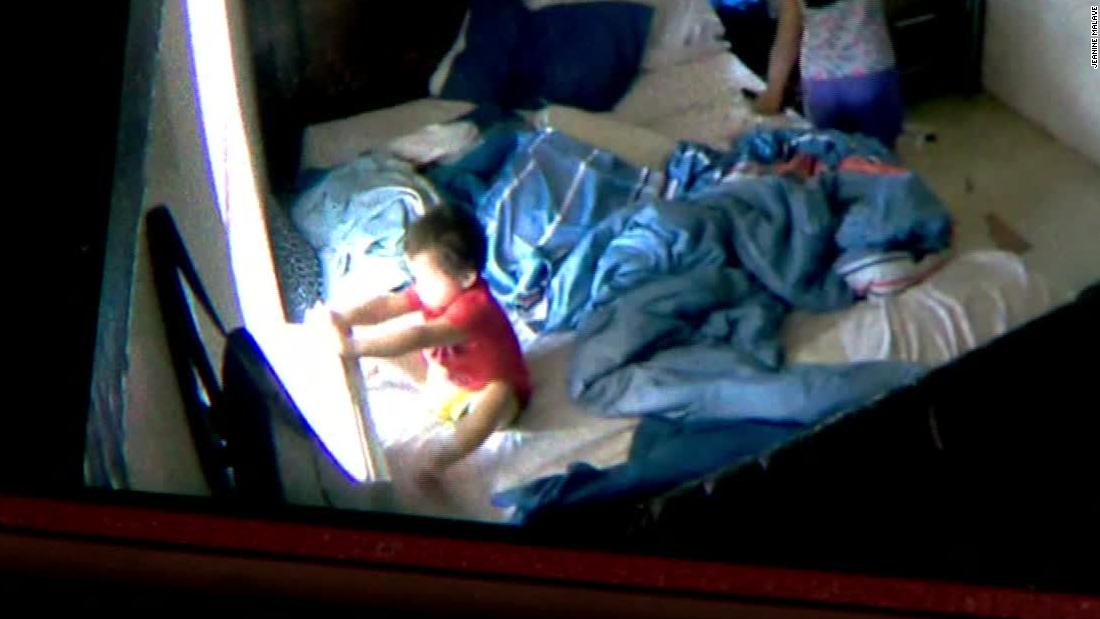 Toddler removes AC unit, crawls out 7th-floor window