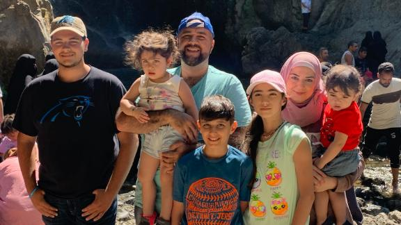 Mayor Mohamed Khairullah of Prospect Park, New Jersey, with his family on vacation in Turkey.