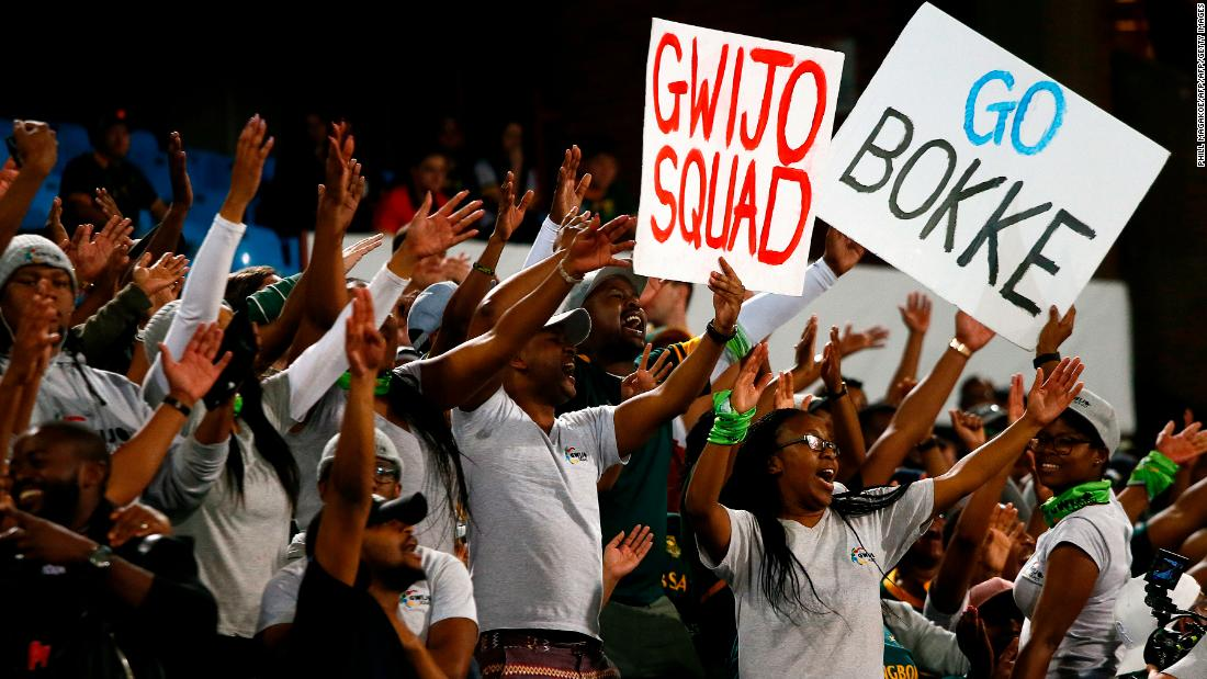 Meet the Gwijo Squad, the musical fan group confronting apartheid's legacy