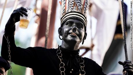 This country with a colonial history has a blackface problem