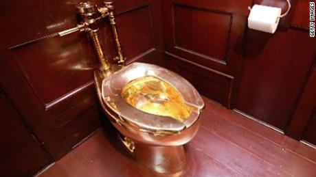 Pleasant Solid Gold Toilet Stolen From Churchills Birthplace Theyellowbook Wood Chair Design Ideas Theyellowbookinfo