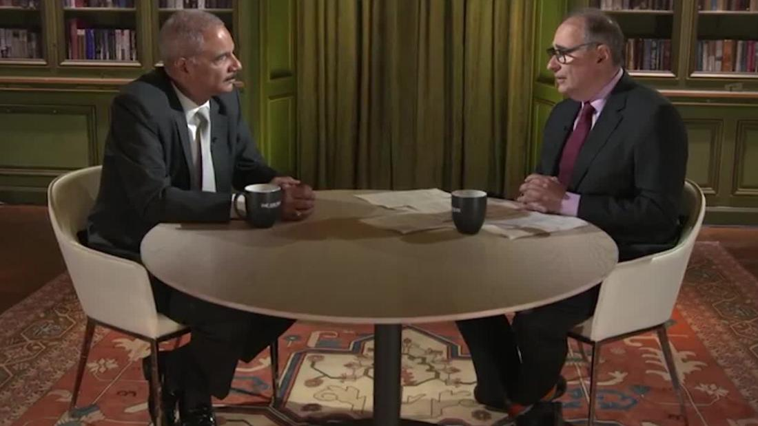 Eric Holder: Dems need to know borders do mean something