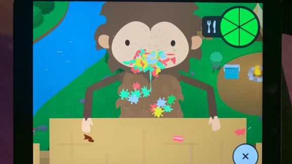"In ""Sneaky Sasquatch,"" you can play a hungry sasquatch who's also a messy eater."