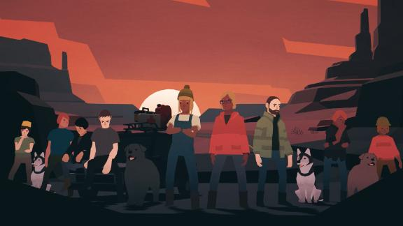 "The cast of ""Overland,"" an indie game by Finji, which changes depending on your playthroughs and is computer-generated from a selection of assets."