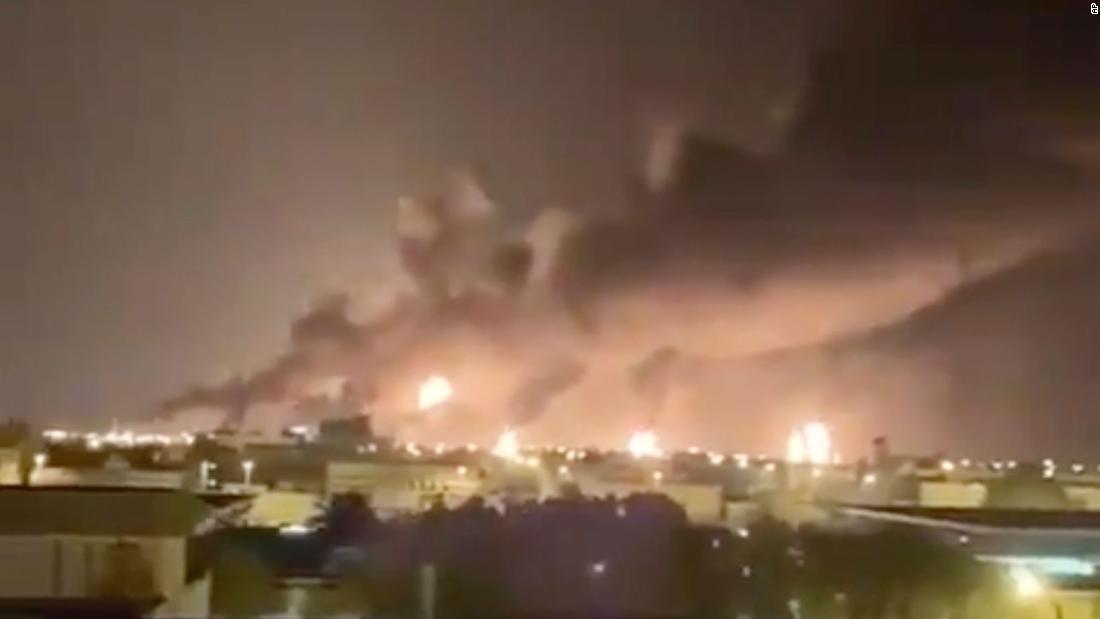 Die Drohnenangriffe auf Saudi Aramco öl-Anlagen konnte eine große delle in der globalen ölversorgung