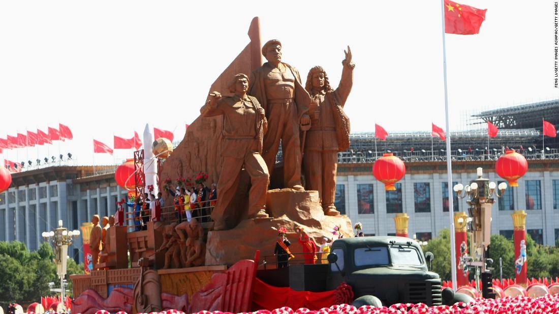 当日は香港、北京に端