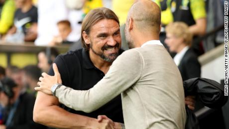 Daniel Farke masterminded a famous Norwich win over Pep Guardiola's Manchester City.