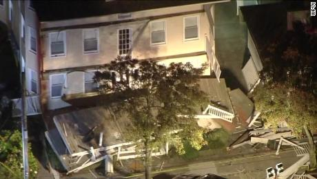 Multiple people were injured Saturday evening, September 14, 2019, when a deck collapsed at a home in Wildwood, New Jersey. The collapse happened in the 200 block of East Baker Avenue at about 6 p.m., authorities said.