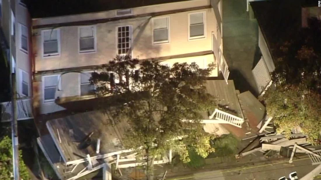 At least 22 people injured in deck collapse at New Jersey beach house