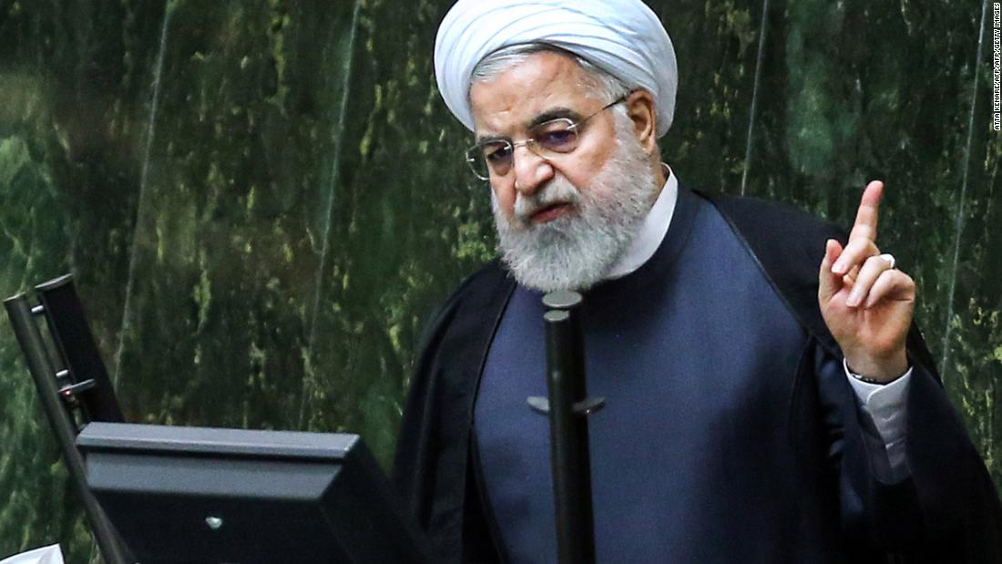 Iran is enriching more uranium now than before the nuclear deal, Rouhani says
