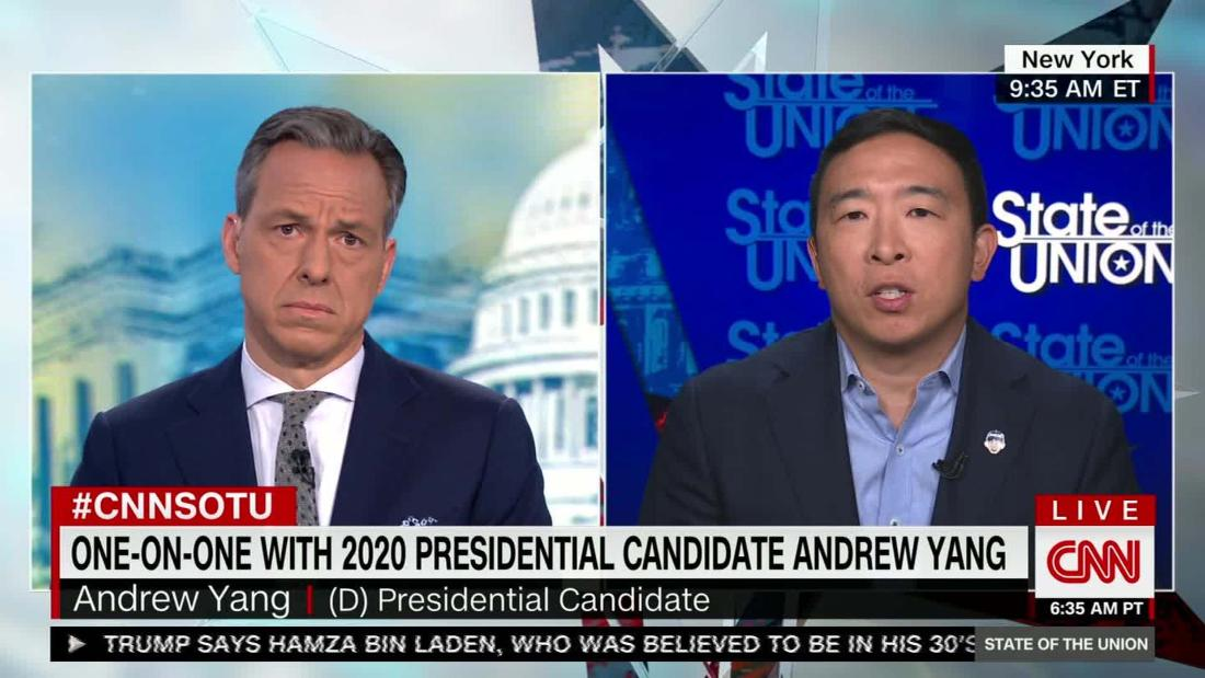 Yang: 'Immoral' that college athletes aren't paid