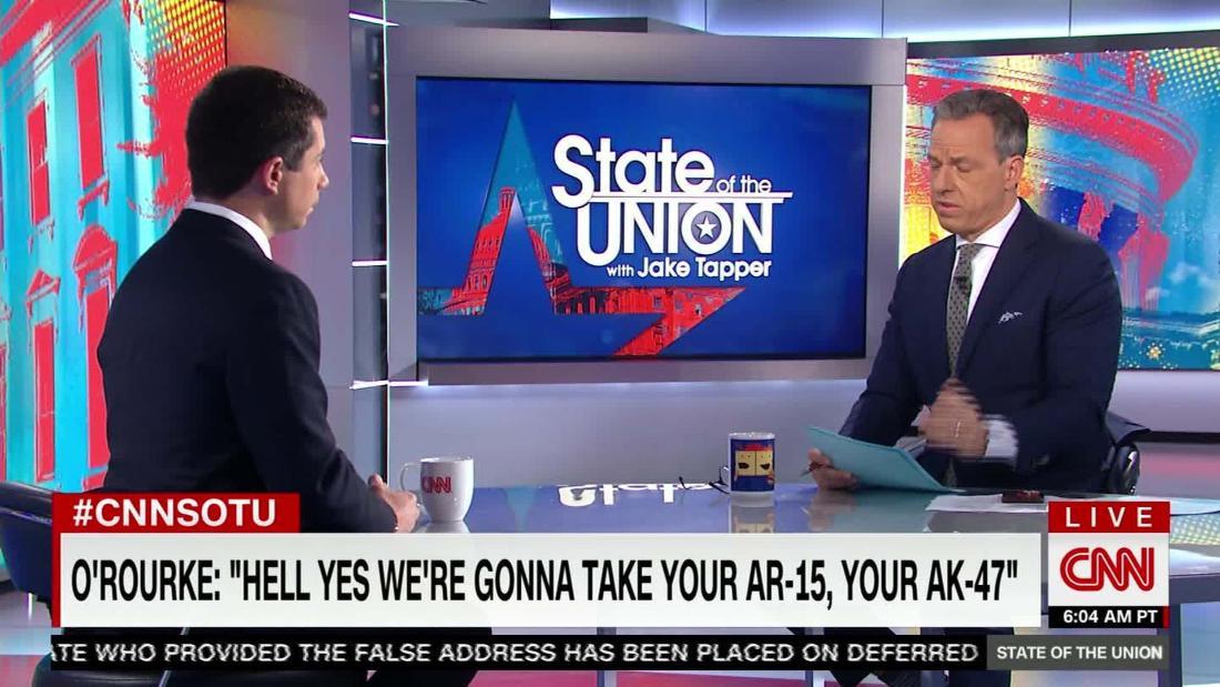O'Rourke and Buttigieg clash over guns after former congressman's AR-15 comment