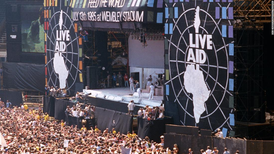 Massive live concert planned in the spirit of Live Aid