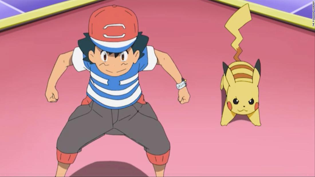 Ash Ketchum has finally become a Pokémon Master