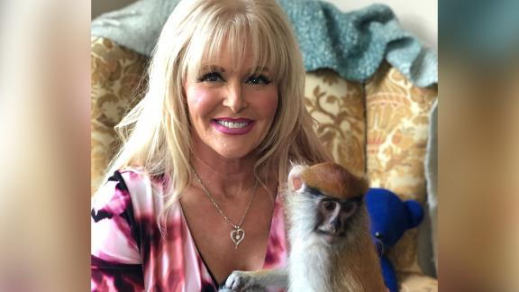 Texanne McBride-Teahan says she has had emotional support monkeys for more than 20 years to help cope with PTSD.