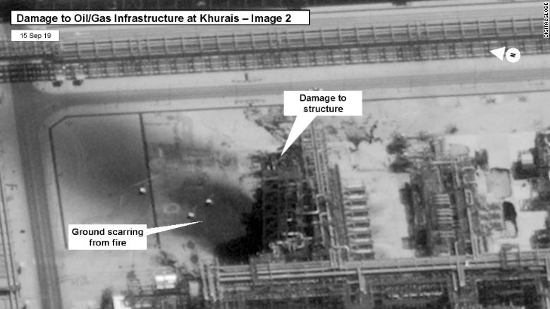 Saudi-led coalition: Iranian weapons used in oil attack