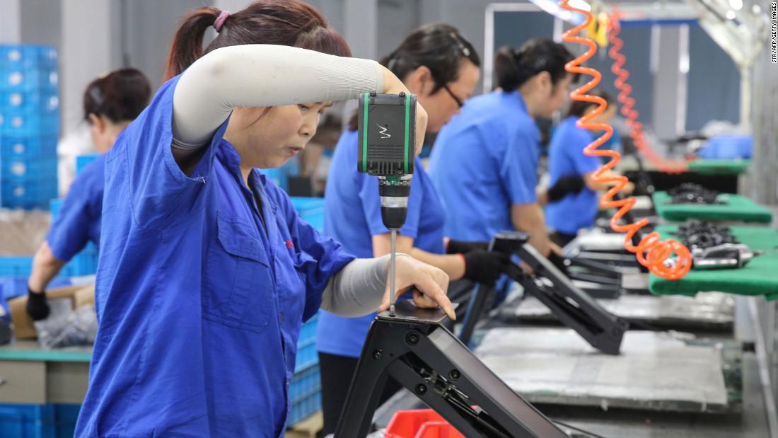 中国の経済が深刻になっています。 この貿易取引が