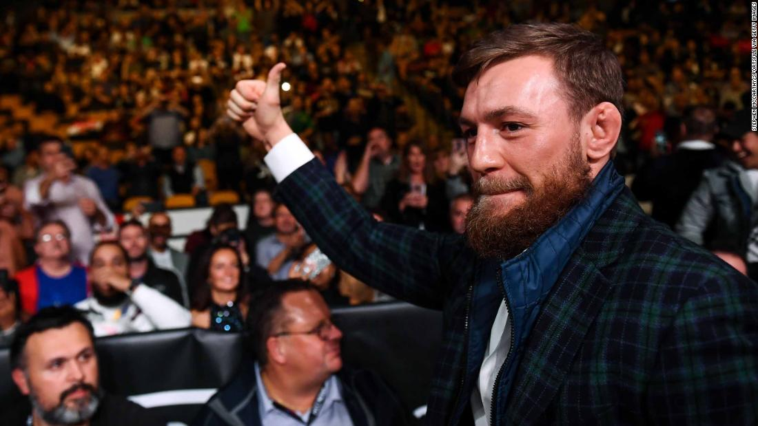 Conor McGregor hints at MMA comeback in Dublin