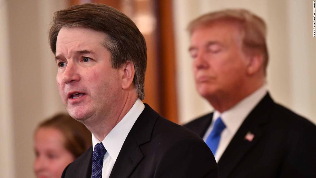 Kavanaugh foreshadows how the US Supreme Court could disrupt vote counting