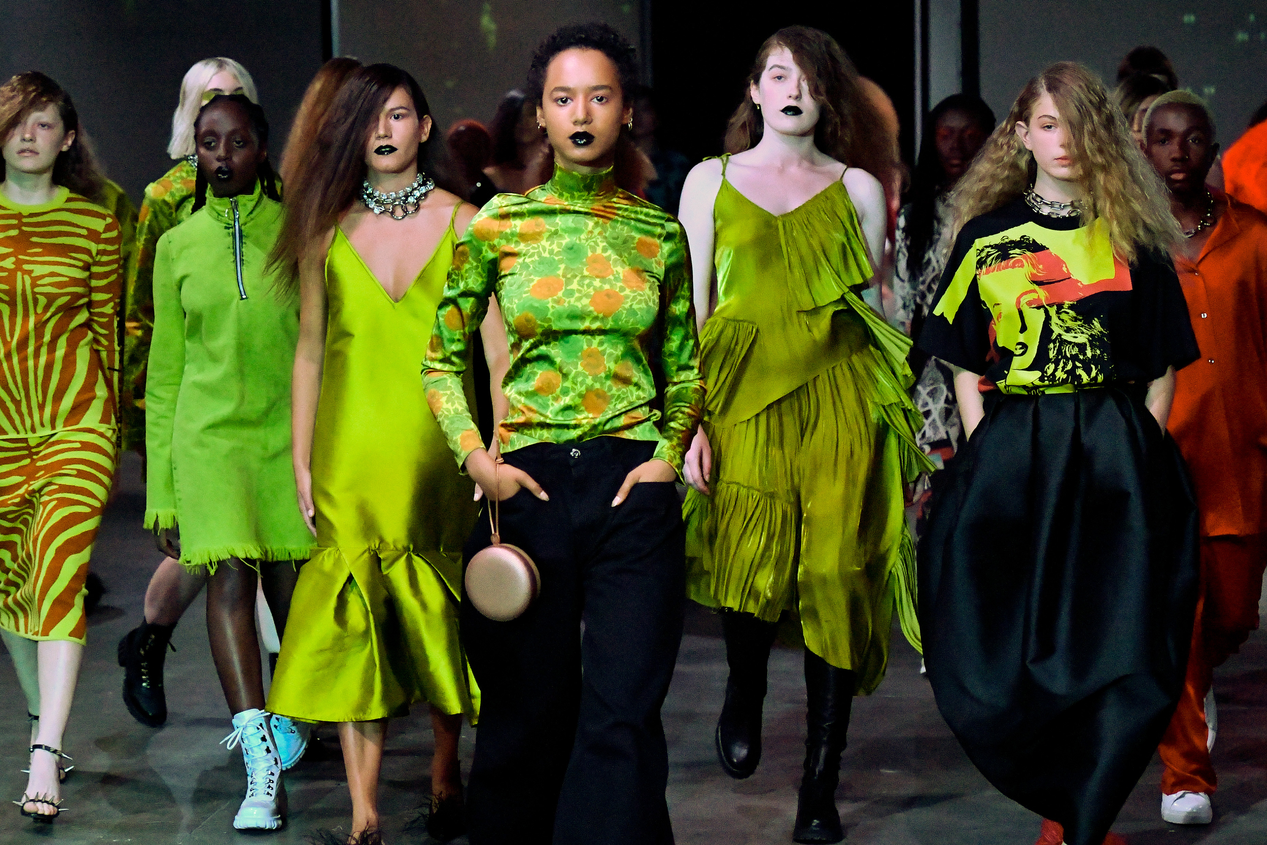 London Fashion Week Here S What Happened Cnn Style