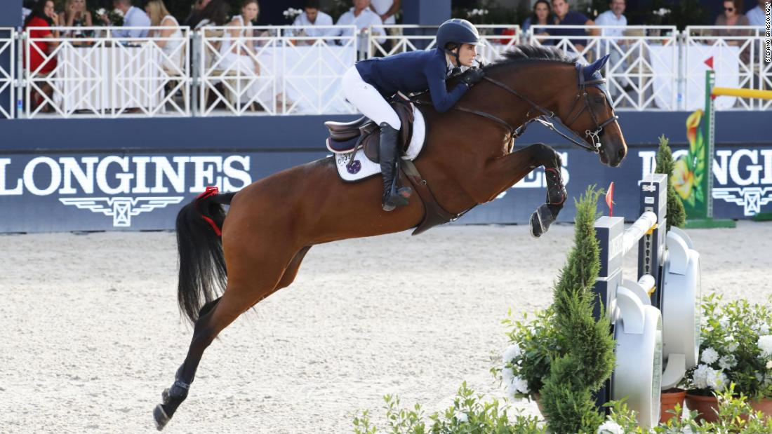 Jessica Springsteen rode RMF Zecilie to her very first individual victory on the Global Champions Tour.