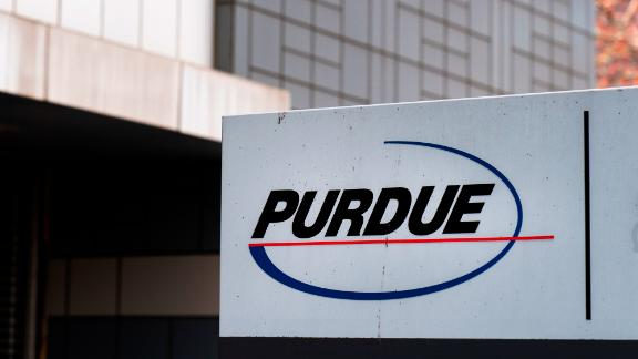 STAMFORD, CT - APRIL 2: Purdue Pharma headquarters stands in downtown Stamford, April 2, 2019 in Stamford, Connecticut. Purdue Pharma, the maker of OxyContin, and its owners, the Sackler family, are facing hundreds of lawsuits across the country for the company