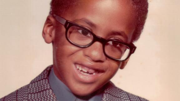 Shawn Pleasants in first grade.