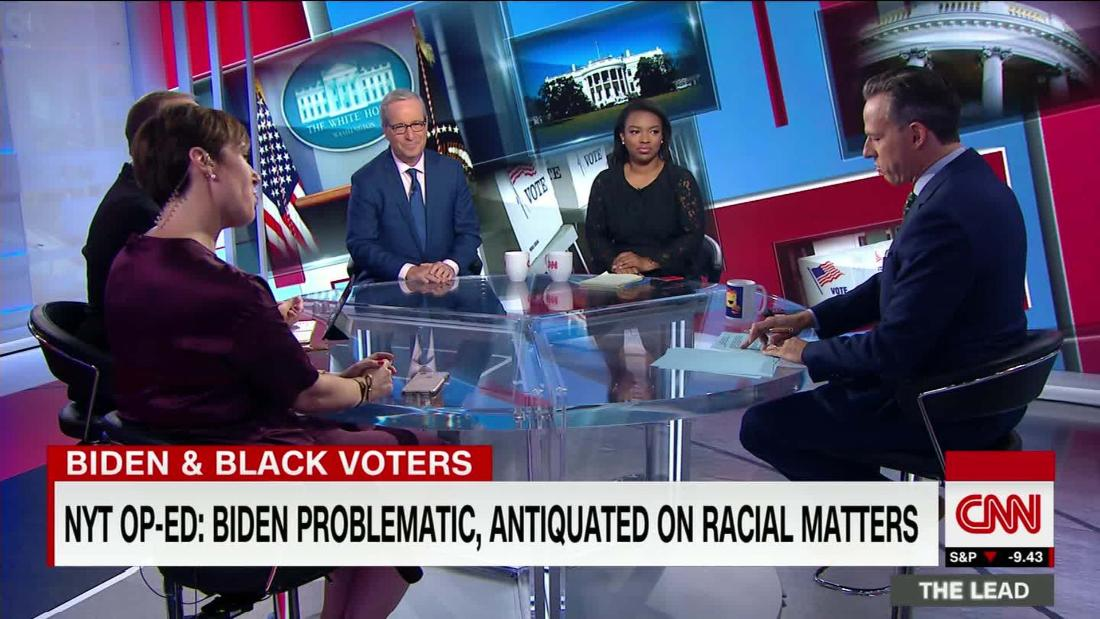 Commentators question Biden on racial issues, even as he leads black Dems by 30+ pts
