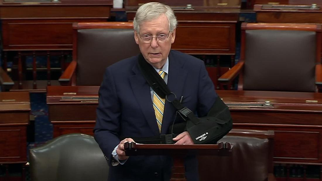 McConnell calls out Dems' 'embarrassing' reenactment