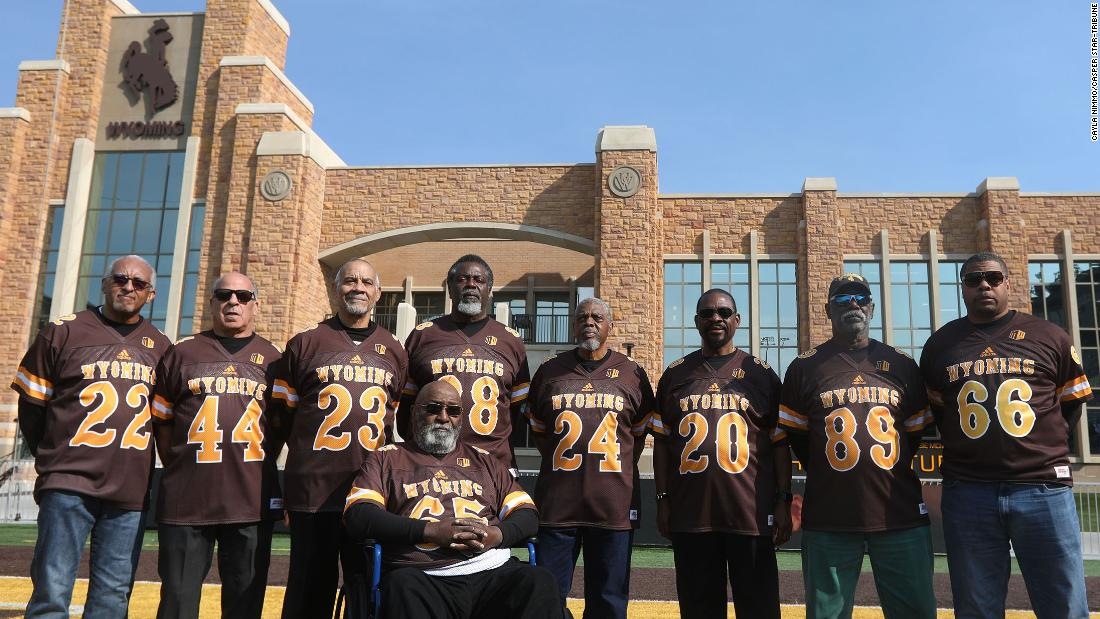 After 50 years, the University of Wyoming apologized for the dismissal of 14 black football players