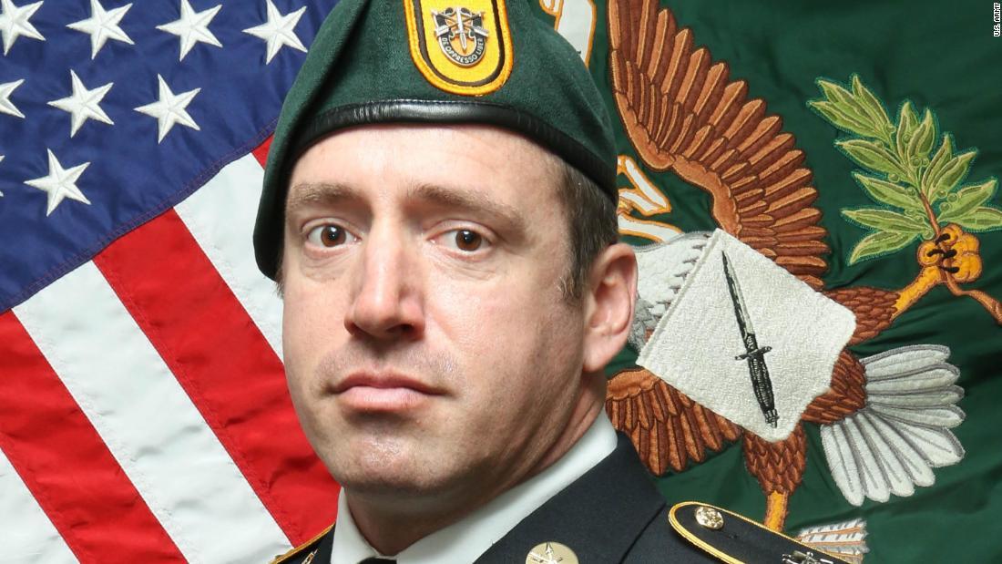 US identifies Green Beret killed in Afghanistan