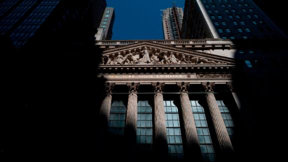 The sun shines on the New York Stock Exchange (NYSE) on July 29, 2019 located at Wall Street in New York City. - Wall Street stocks were mostly lower early Monday at the start of a week jammed with news, including a Federal Reserve decision and Apple results. (Photo by Johannes EISELE / AFP)        (Photo credit should read JOHANNES EISELE/AFP/Getty Images)