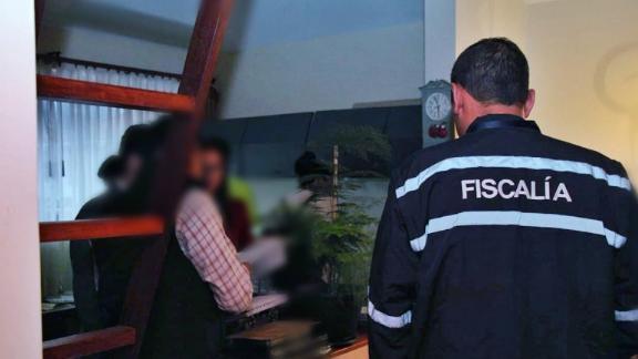 Ecuadorian police and investigators raid the home of Novaestrat