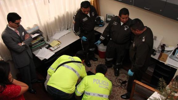 On a raid on September 16, investigators seized computers, documents, and electronic devices in the home of William Roberto G.
