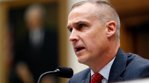 Corey Lewandowski, the former campaign manager for President Donald Trump, testifies to the House Judiciary Committee Tuesday, September 17, 2019, in Washington.