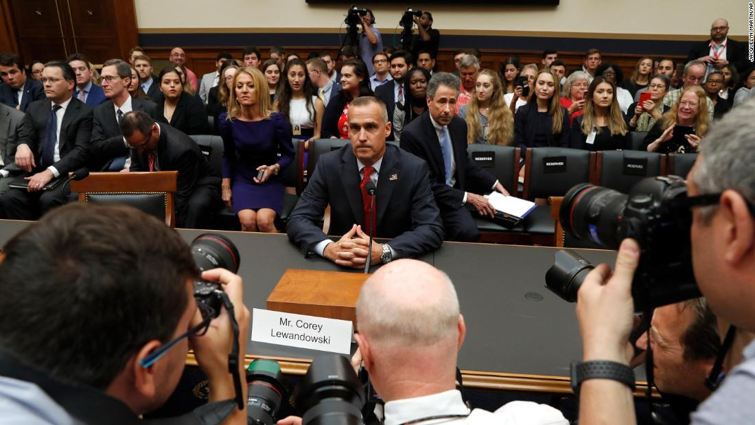 Current Status: House Judiciary Committee weighs holding Lewandowski in contempt