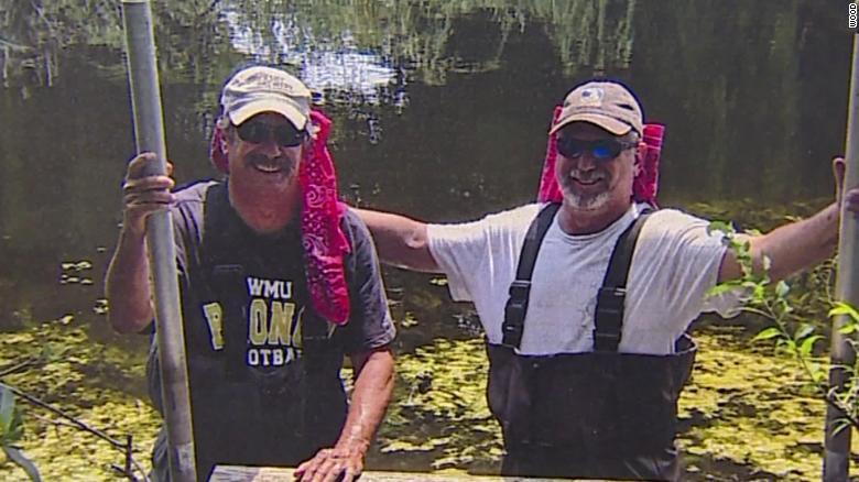 Gregg McChesney (L) and Mark McChesney (R)