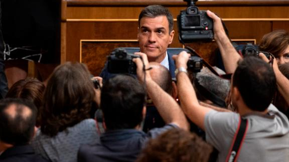 Sanchez announced that Spain would go to the polls on November 10.